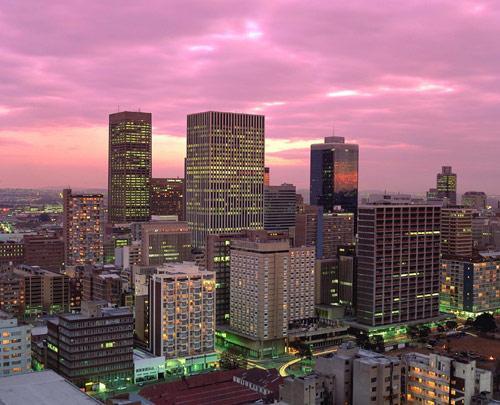 Con 4 milioni di abitanti, Johannesburg, amichevol