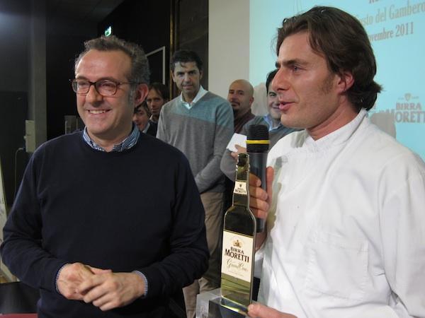 Massimo Bottura, presidente della giuria del Premi