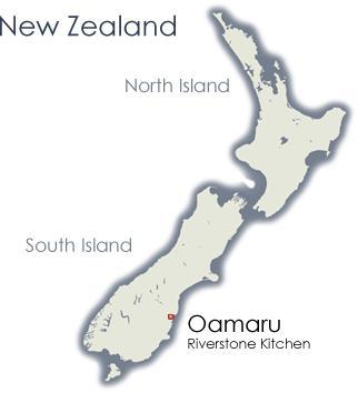 La posizione di Oamaru