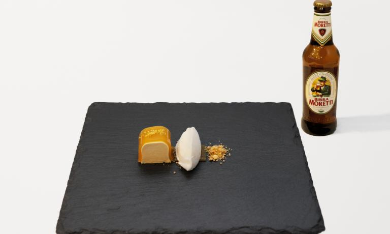 Paired with Birra Moretti