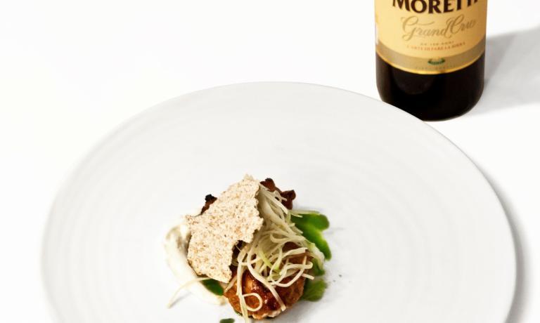 Matching beer,Birra Moretti Grand Cru