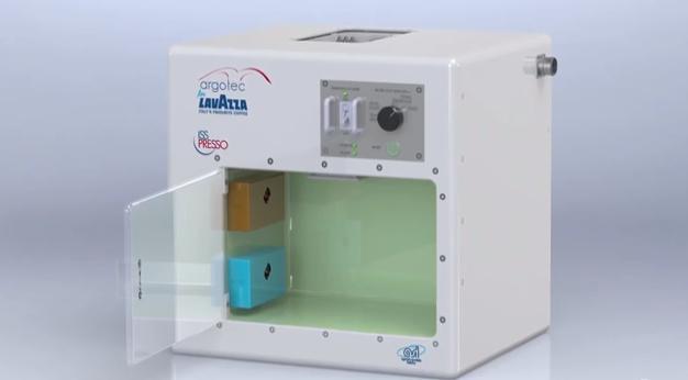 ll sistema espresso a capsule in grado di lavorare nelle condizioni estreme dello spazio