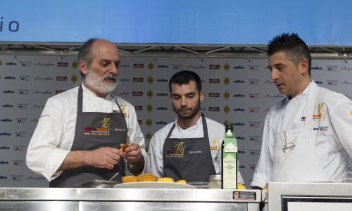 Corrado Assenza (a sinistra), sempre presente in 1