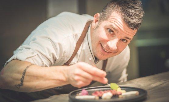 Marcello Corrado, chef dell'Osteria Perillà