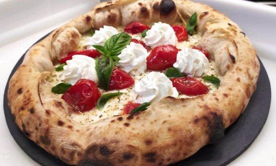 Una delle pizze di Flegrea, dal 1976