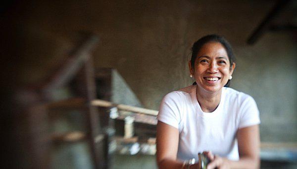 Margarita Forés in un felice scatto di Gerard Meloni