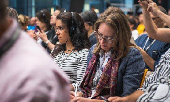 Sono intervenuti 150 giornalisti da tutto il mondo(foto: Michael Mair am Tinkhof, Mint Mediahouse, per Consorzio Vini Alto Adige)