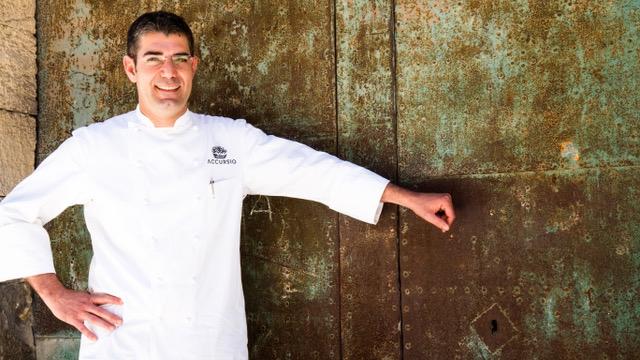 Accursio Craparo, dal 2004 a Modica con il suo ristorante