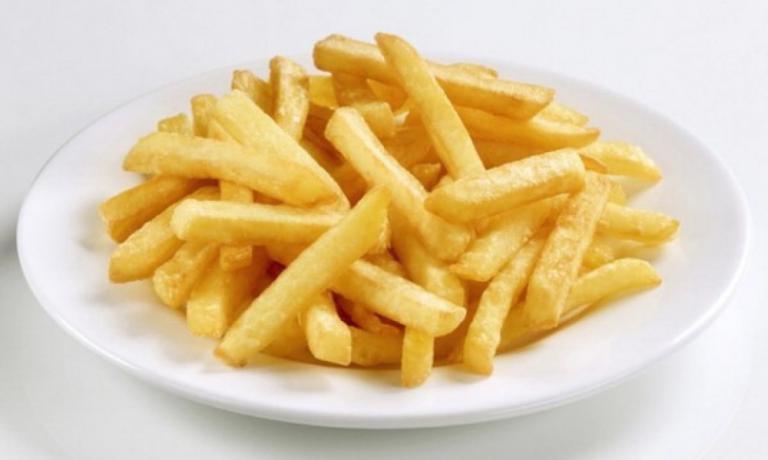 ...e nelle patatine