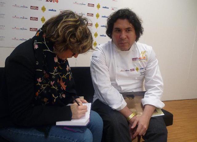 Acurio con Tania Mauri a Identità Milano (http://giridigusto.com/)