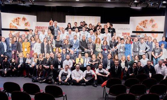 Tutta la squadra (non solo giornalistica, eh) di Identità Milano lo scorso anno