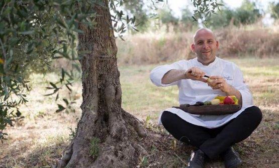 Lo chef Daniele Citeroni Maurizi, patron dell'