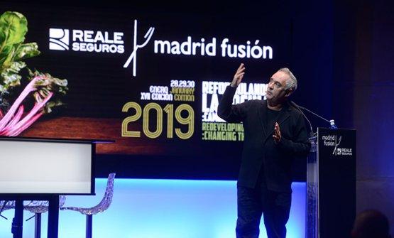 Ferran AdriàaMadrid Fusión