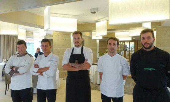 Agatino Bruno, Peppe Torrisi, Joseph Micieli, Gabriele Di Vincenzo,Santino Corso