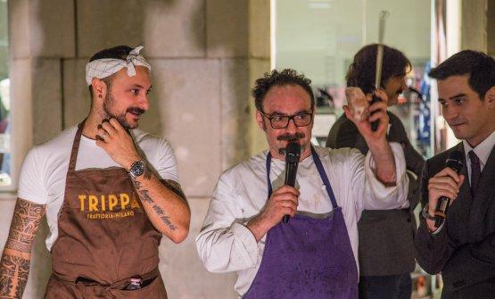 Diego Rossi con Paolo Lopriore