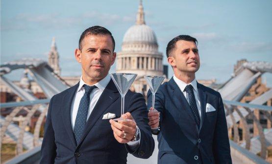 Grande Italia a Londra: il racconto di Agostino Perrone e Giorgio Bargiani, sulla vetta del World's 50 Best Bar