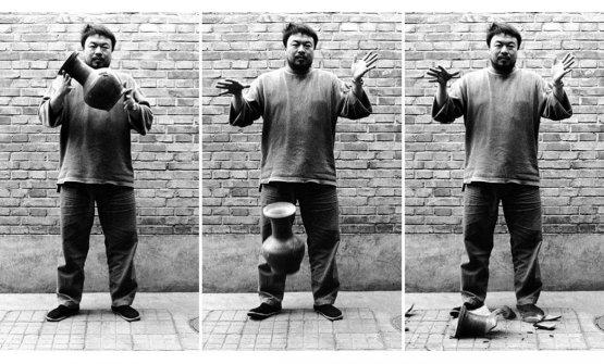 Ai Weiweie il vaso
