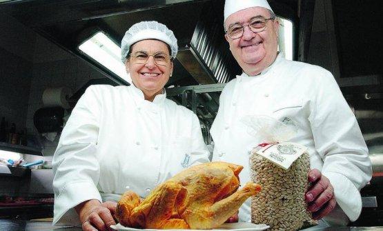 Nadia e Aimo Moroni, ristoratori toscani in Milano