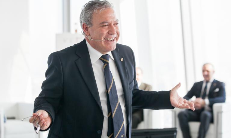 Antonello Maietta, presidente dell'Associazione italiana sommelier