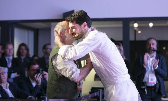 Corrado Assenza e Massimiliano Alajmo in un'im