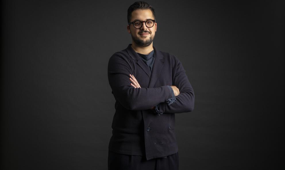 Giovanni Alajmo, responsabile disala del Caffe Stern di Parigi a soli 22 anni