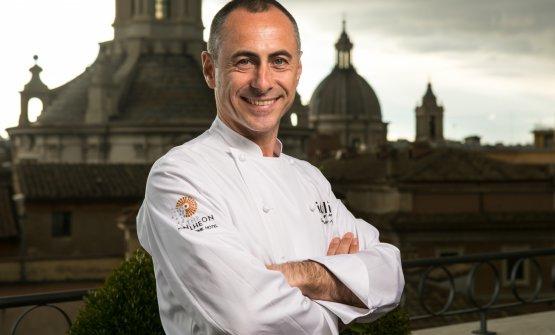 Lo chef Francesco Apreda