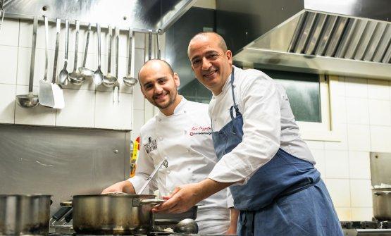 Luca Pezzetta, chef-pizzaiolo di casa all'Oste