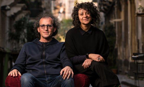 Andrea Graziano, sommelier e patron, e la chef Valentina Chiaramonte(foto di Alberto Blasetti)