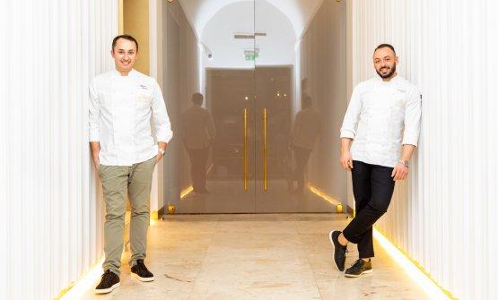 Con Alessandro Rinaldi, chef di Identità Golose Milano
