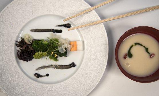 Alchimia Zen, uno dei piatti diYoshiko Hondo