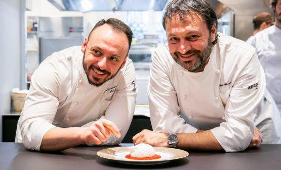 Ugo Alciati e Alessandro Rinaldi, il resident chef di Identità Golose Milano