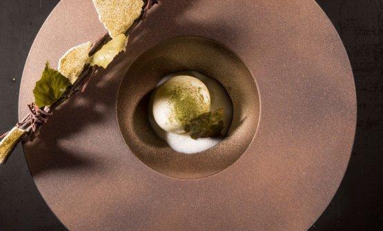 Latte e betulla, predessert (fotoBrambilla/Serrani)