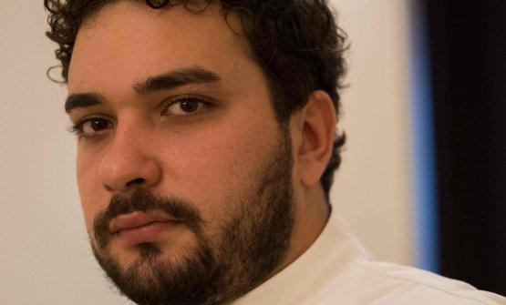 Alessandro Ingiulla, nato nel 1992, chef e titolare del ristorante Sapio