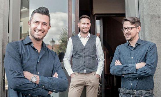 Il trio che anima Casa Rispoli