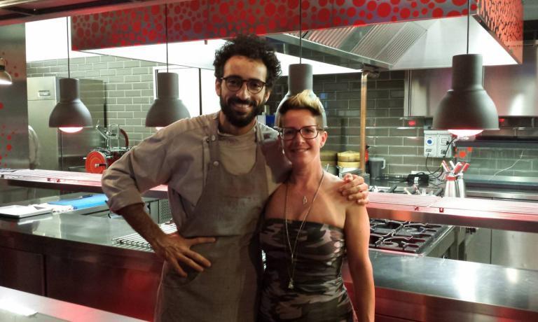 Ziliani with a special colleague, Franco Aliberti