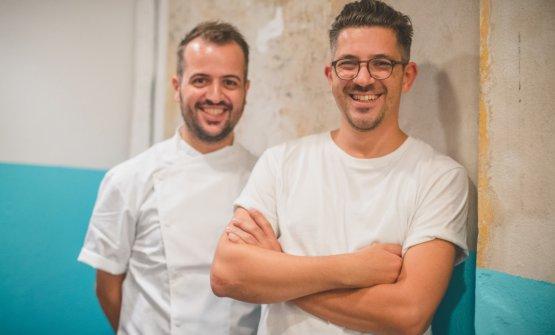 I due fratelli Aloe: Matteo, a sinistra, e Salvatore