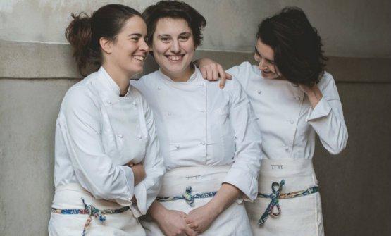 Giulia Scialanga, Sara Nicolosi e Cinzia De Lauri