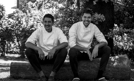 Gli chef Stefano e Mattia Manias
