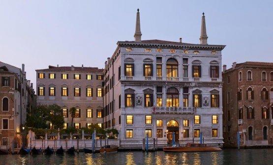 La facciata dell'Aman Venice