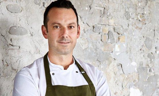 Matt Orlando, americano di San Diego, 41 anni. Da luglio 2013 chef e patron di Amass, a Copenhagen