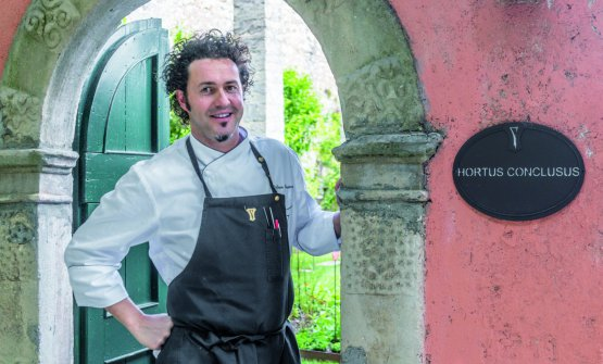 Stefano Baiocco, great chef at Villa Feltrinelli�