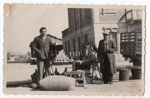 Amèrico Coppiniin una foto del secondo dopoguerra