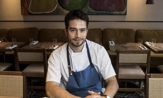 Jeremy Chan, chef at Ikoyi in London, one Michel