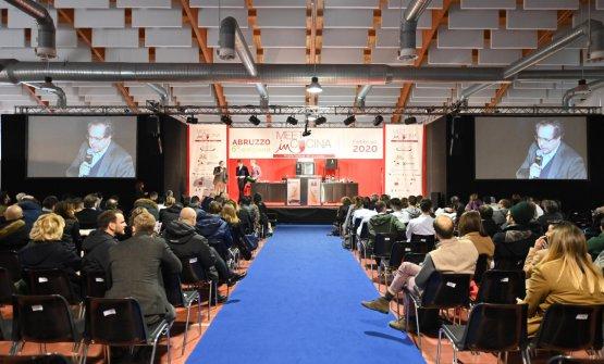 Il palco di Meet in Cucina Abruzzo. Tutte le immag
