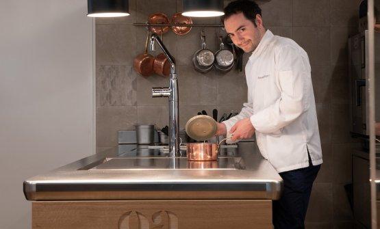Alessandro Bellingeri,chef-patron dell'Oster