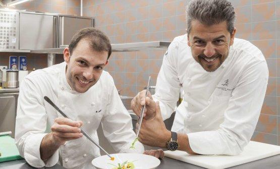 Da sinistra, Raffaele Lenzi e Andre Berton