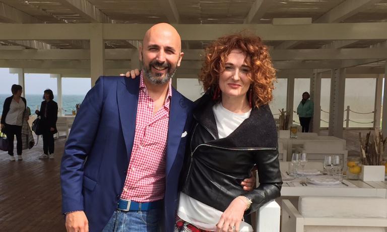 Andrea e Daria Ribaldone a Borgo Egnazia
