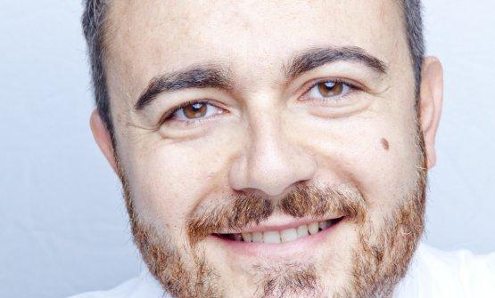 Lo chef Andrea Larossa, dell'omonimo ristorante