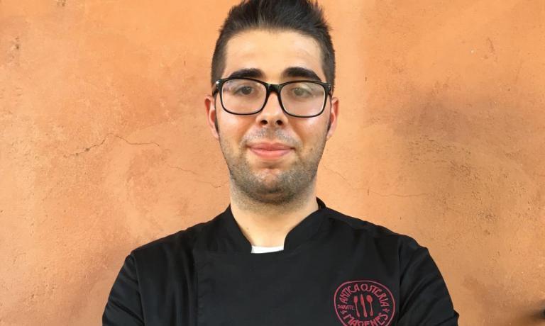 Andrea Paiardi, sous chef dell'Antica Osteria Magenes