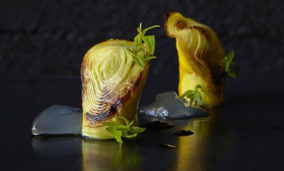 Anemone vegetale e verbena